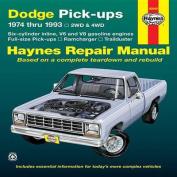 Dodge Pick-ups (74-93) Automotive Repair Manual