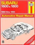 Subaru 1600 and 1800 (1980-94) Automotive Repair Manual