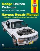 Dodge Dakota Pick-ups (87-96) Automotive Repair Manual