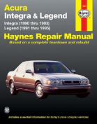 Acura Integra and Legend (1990-95) Automotive Repair Manual