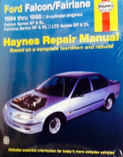 Ford Falcon/Fairlane Australian Automotive Repair Manual