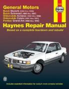 GM N-cars (Buick Skylark 86-98, Buick Somerset 85-87, Oldsmobile Achieva 92-98, Oldsmobile Calais 85-91, Pontiac Grand Am 85-98) Automotive Repair Manual