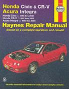 Honda Civic and CR-V Acura Integra Automotive Repair Manual