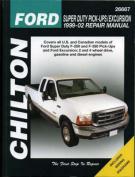Ford Super Duty Pick Ups/Excursion Repair Manual