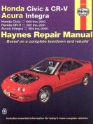 Honda Civic & Cr-V - Acura Integra