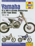 Yamaha YZ & WR 4-Stroke Motocross & Off-Road Bikes, '98 to '08