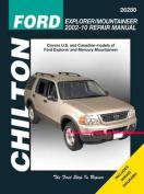 Ford Explorer & Mercury Mountaineer Automotive Repair Manual (Chilton)