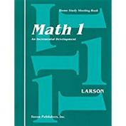 Saxon Math 1 Home Study Kit First Edition
