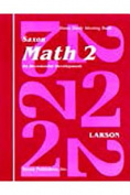 Saxon Math 2 Home Study Kit First Edition