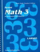 Math 3 1e Homeschool Set