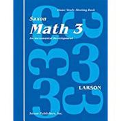 Saxon Math 3 Home Study Kit First Edition
