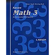 Saxon Math 3 Meeting Book First Edition