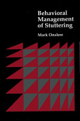 Behavioural Management of Stuttering