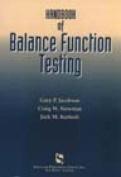 Handbook of Balance Function Testing