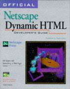 Official Netscape Dynamic HTML Developer's Guide
