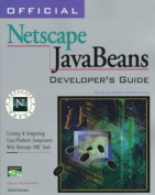 Official Netscape JavaBeans Developer's Guide