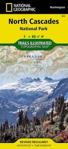 North Cascades National Park: Trails Illustrated National Parks by National Geog