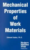 Mechanical Properties of Work Materials