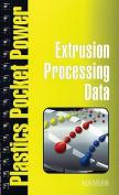 Extrusion Processing Data