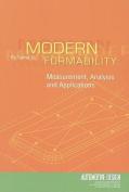 Modern Formability