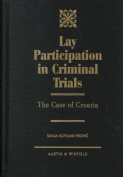 Lay Participation in Criminal Trials