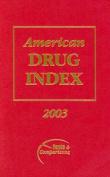 American Drug Index 2003
