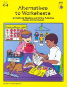 Alternatives to Worksheets