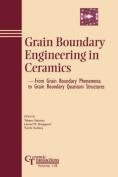 Grain Boundary Engineering in Ceramics