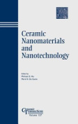 Ceramic Nanomaterials and Nanotechnology