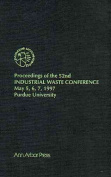Proceedings of the 52nd Industrial Waste Conference, May 5-7, 1997 Purdue University, West Lafayette, Indiana, USA