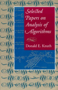 Selected Papers on Analysis of Algorithms