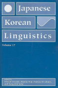 Japanese and Korean Linguistics