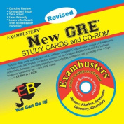 New GRE: CD-ROM & Study Cards Combo