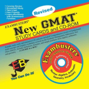 New GMAT: CD-ROM & Study Cards Combo