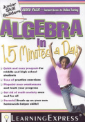 Algebra in 15 Minutes a Day [With Access Code]