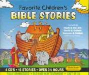 Favorite Children's Bible Stories 4 CD Quad Pack  [Audio]