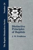 Distinctive Principles of Baptists
