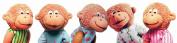 Puppet-5 Little Monkeys Finger