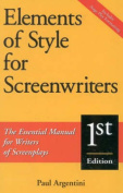 Elements of Style for Screenwriters