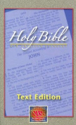 Large Print Text Bible-NASB [Large Print]