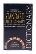 New International Standard Dictionary of the English Language