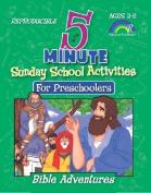 Five-Minute Sunday School Activities for Preschoolers