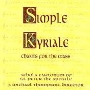 Simple Kyriale [Audio]