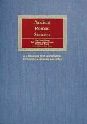 Ancient Roman Statutes