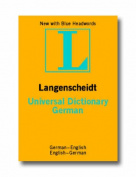 German Langenscheidt Universal Dictionary