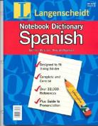 Spanish Notebk Dict
