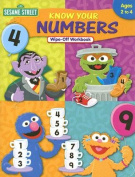 Sesame Street Know Your Numbers Wipe-Off Workbook