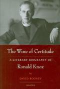 The Wine of Certitude