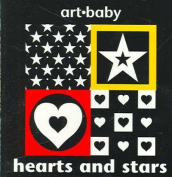 Hearts and Stars (Art Baby) [Board book]