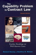 The Capability Problem in Contract Law